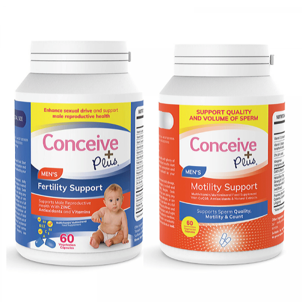 Conceive Plus motility and fertility support combo