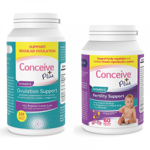 Conceive Plus Ovulation and Fertility support combo